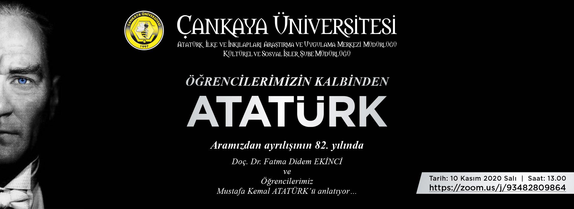 Öğrencilerimizin Kalbinden Atatürk