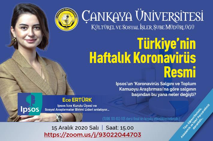 Türkiye'nin Haftalık Koronavirüs Resmi